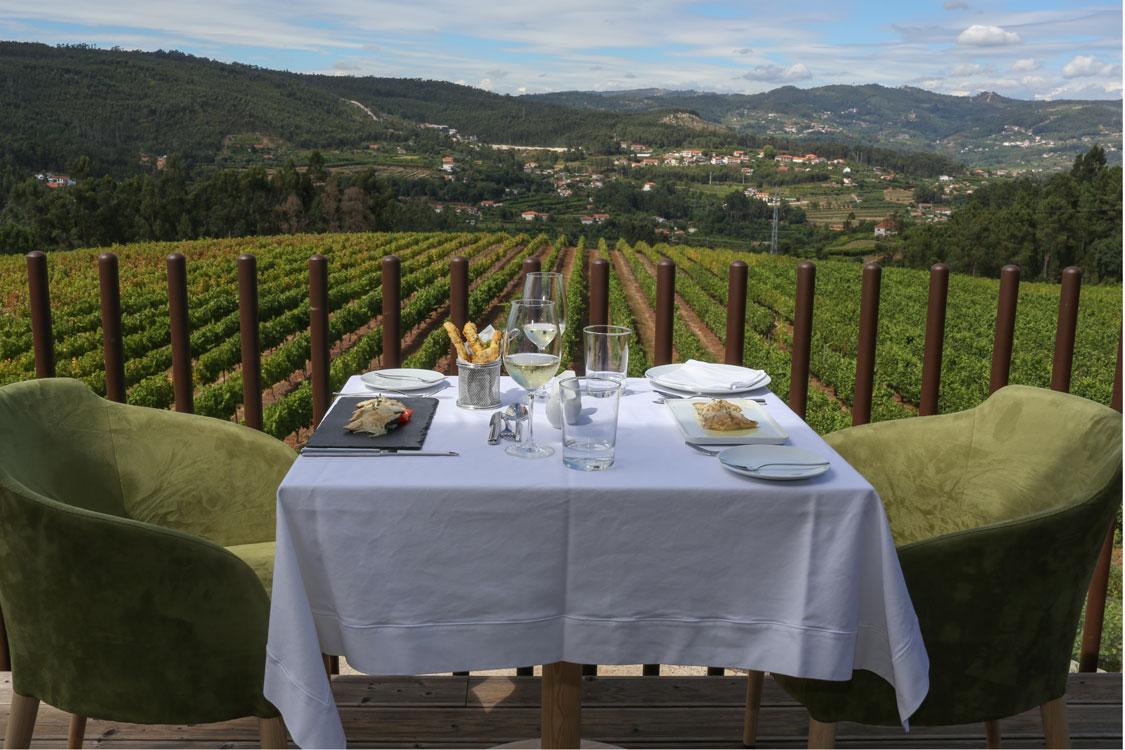 Monverde, restaurante onde o vinho é rei