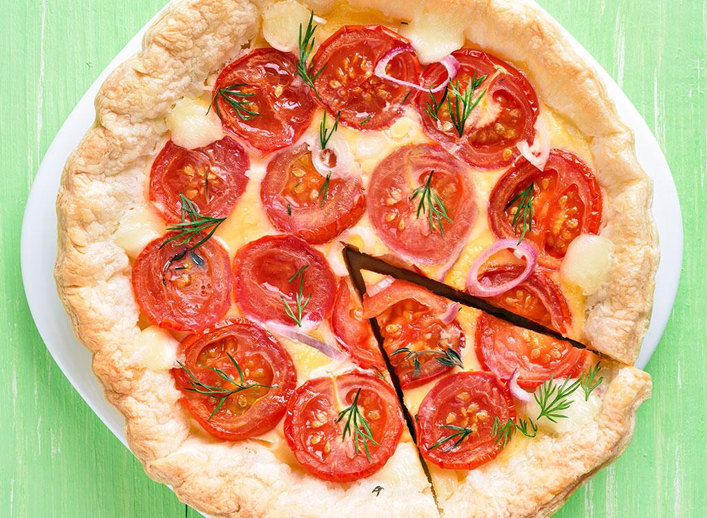 Pizza fresca e caseira