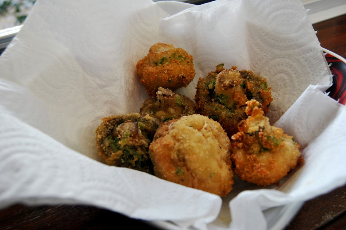 Nem é carne nem é peixe: receita de cogumelos panados