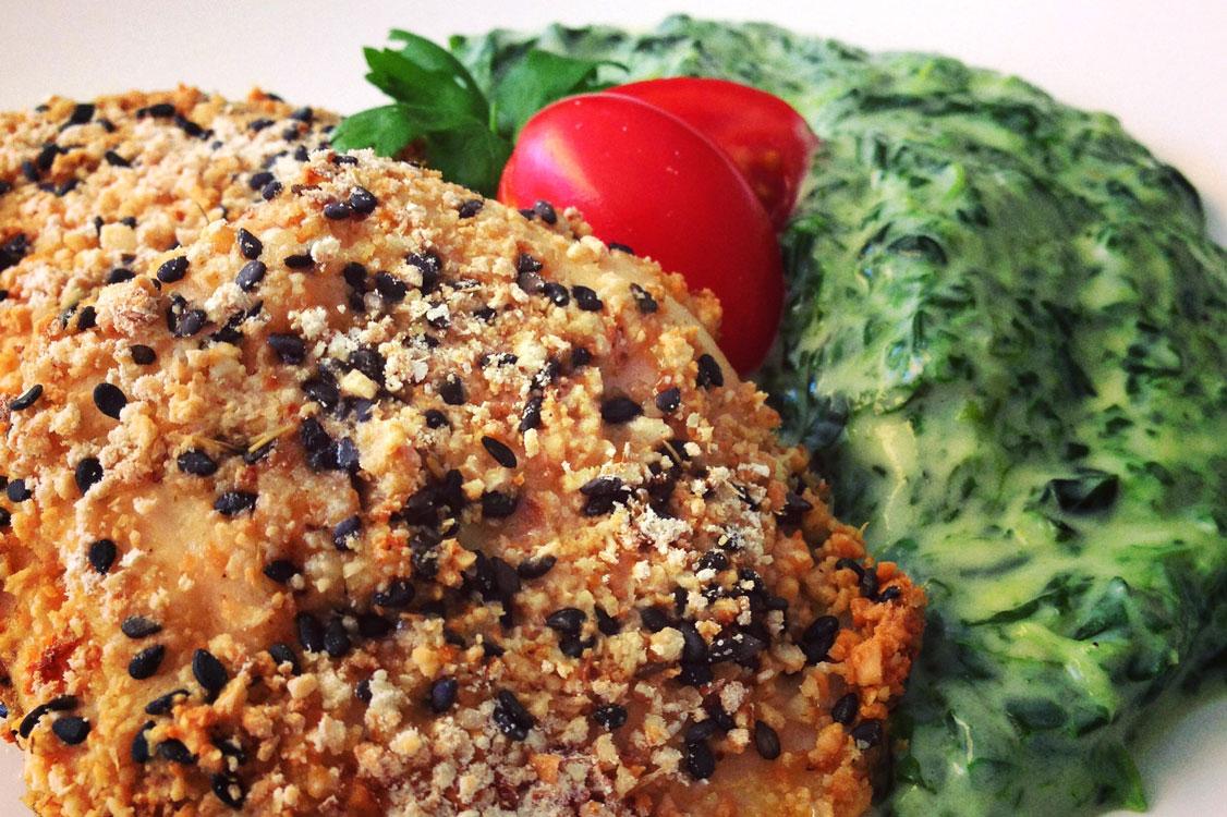 Bifes panados: uma receita rápida e saudável