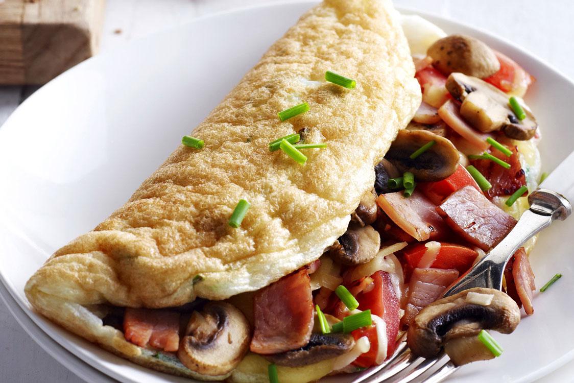 Omelete branca? É bem mais saudável!