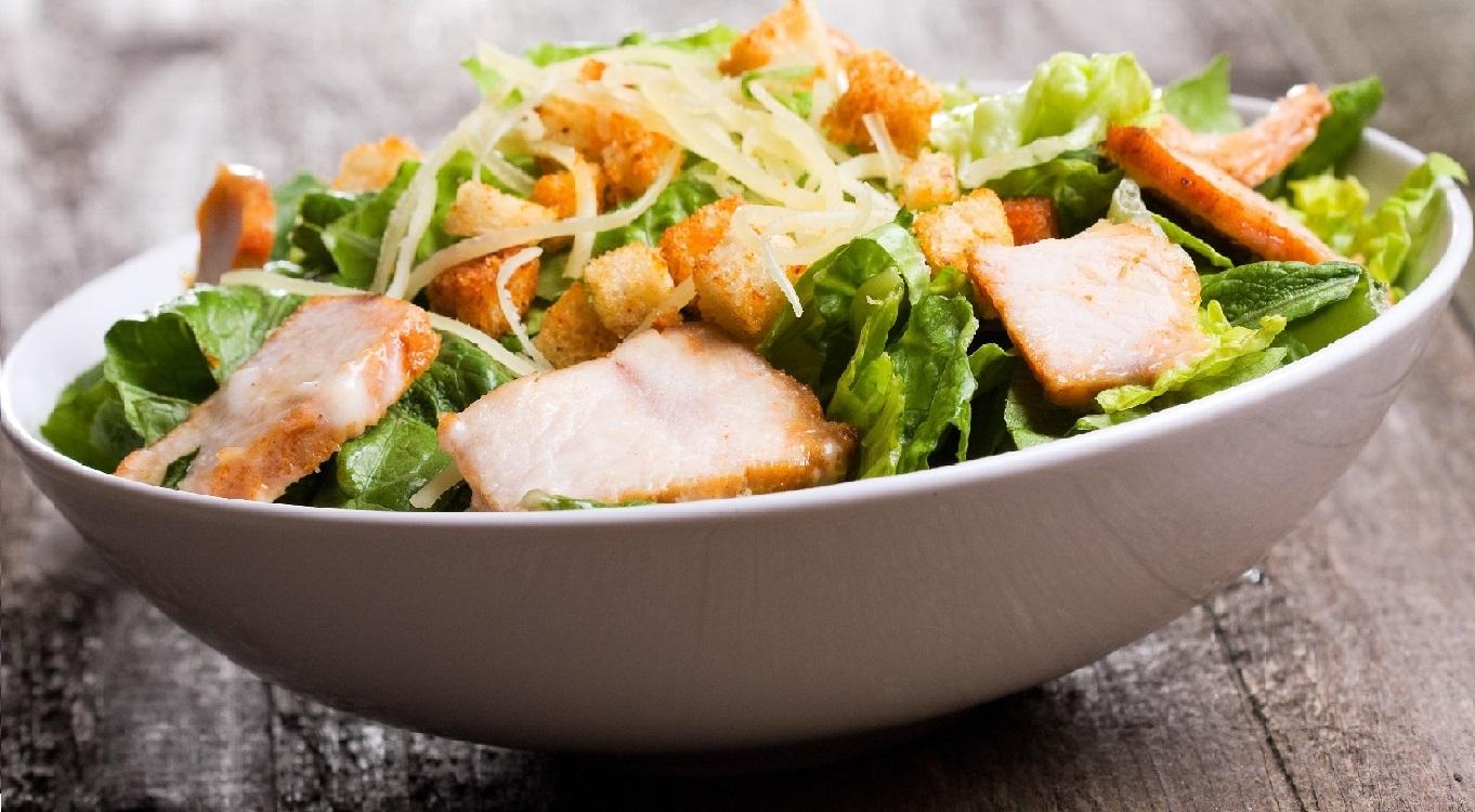 Salada Caesar, das mais conhecidas do mundo
