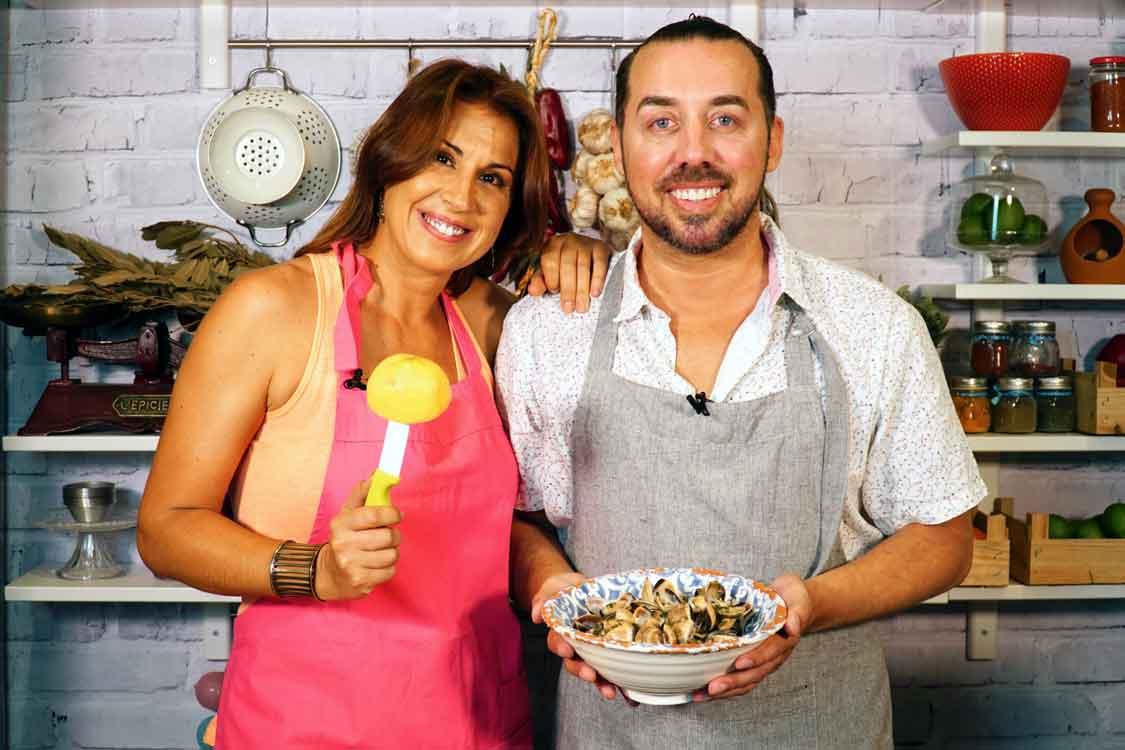 Amêijoas à bulhão pato com Marta Cardoso