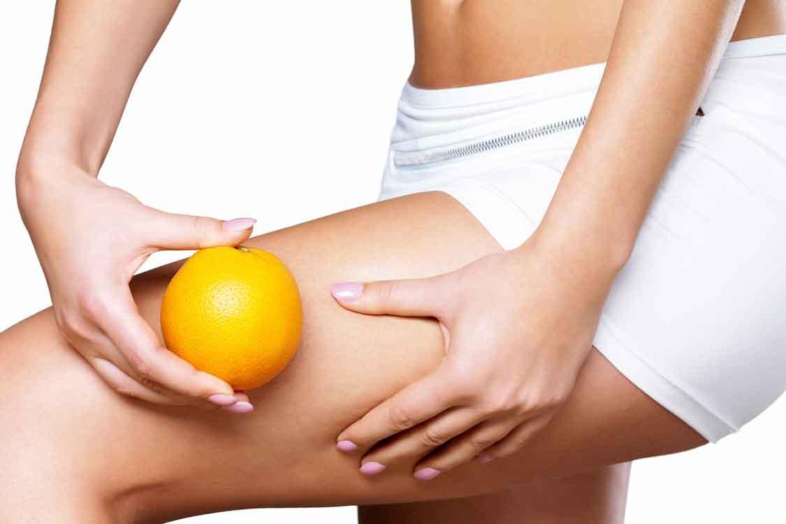Alimentos contra a casca de laranja