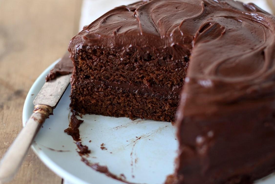 Receita de bolo de chocolate sem ovos