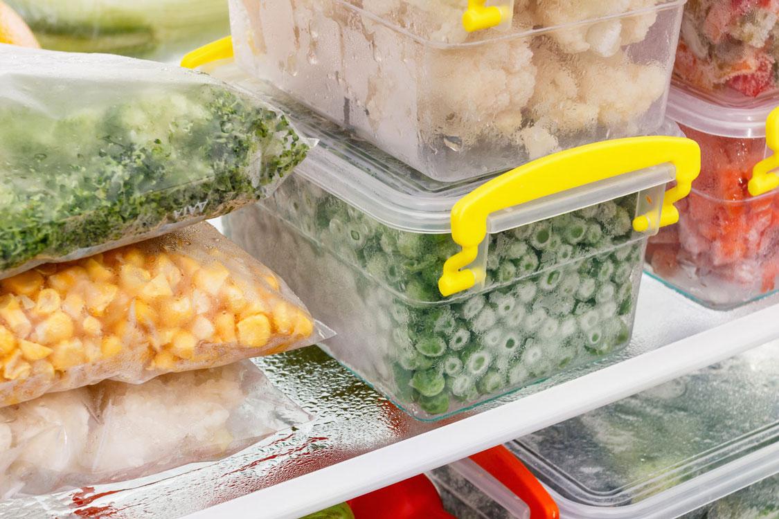 Dicas para congelar alimentos sem se preocupar