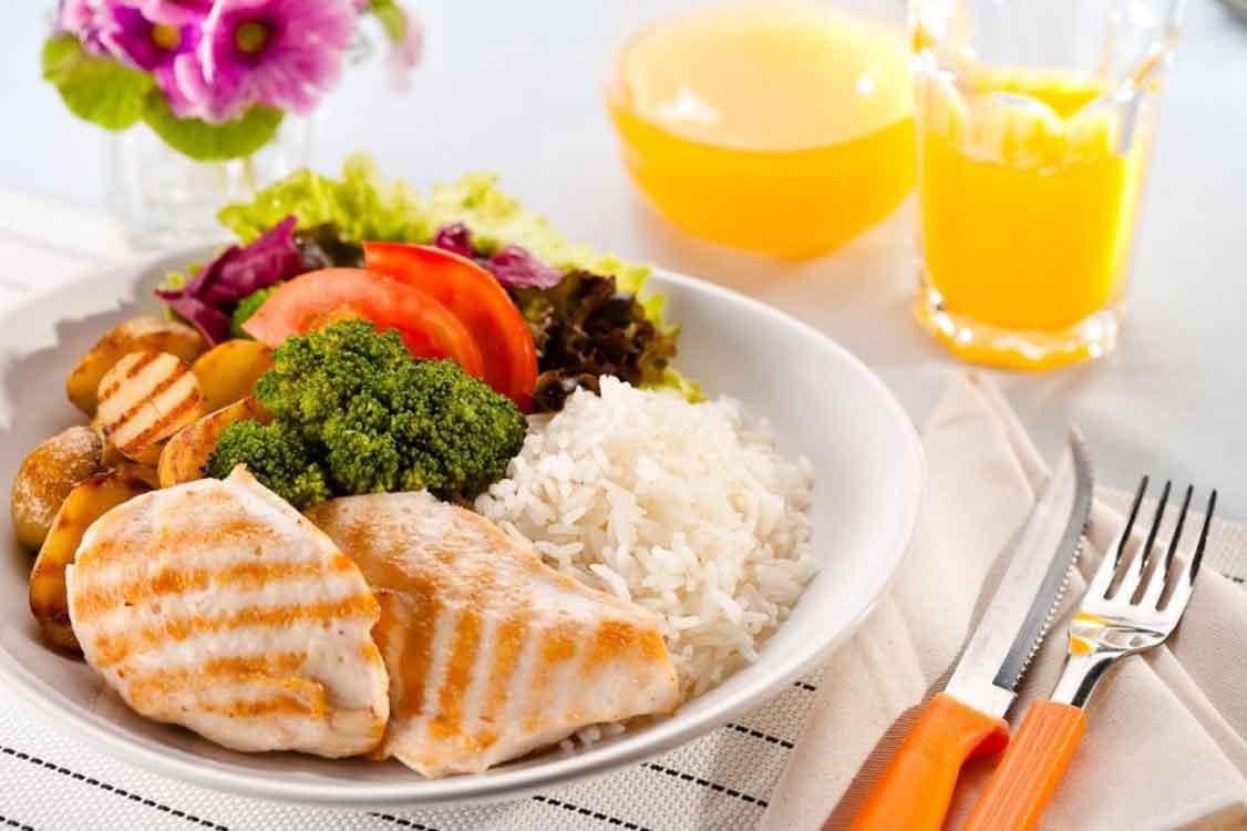 O horário de almoço é para respeitar!