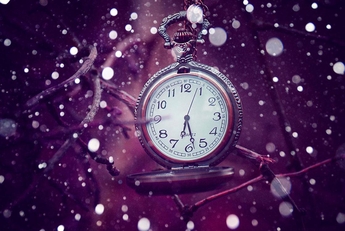 Mudança da hora para o horário de inverno