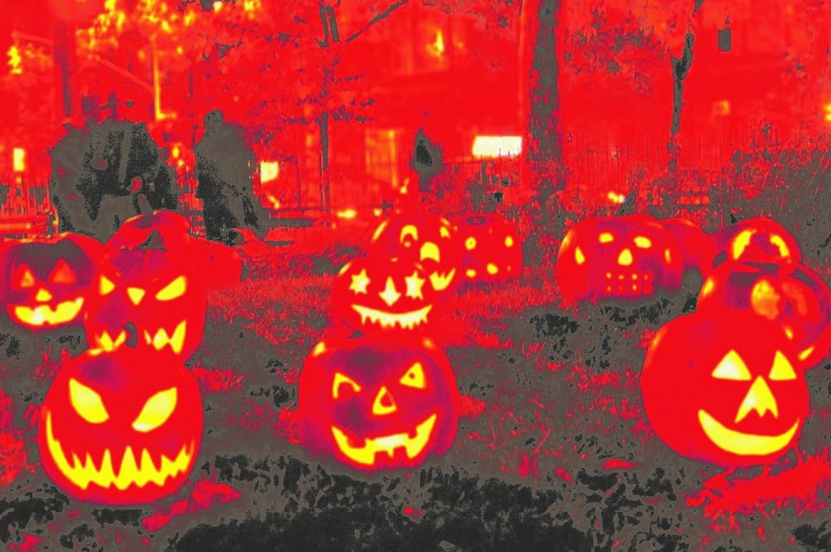 5 sítios para passar o Halloween