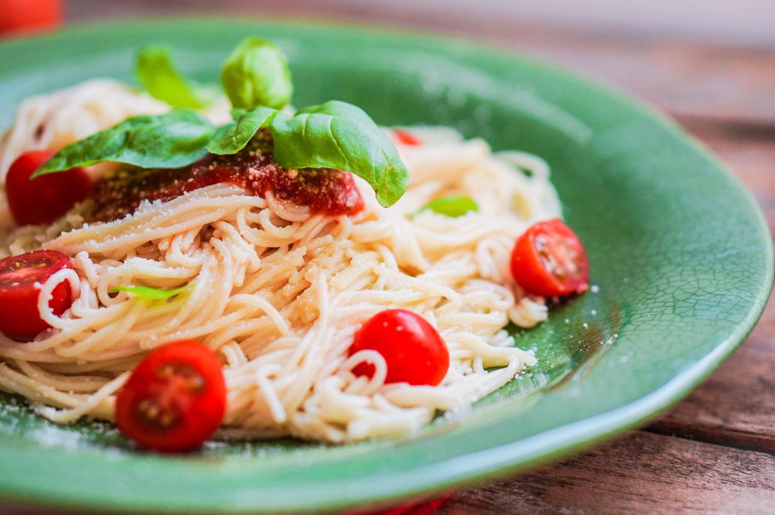 Spaghetti al pomodoro no Dia Mundial das Massas