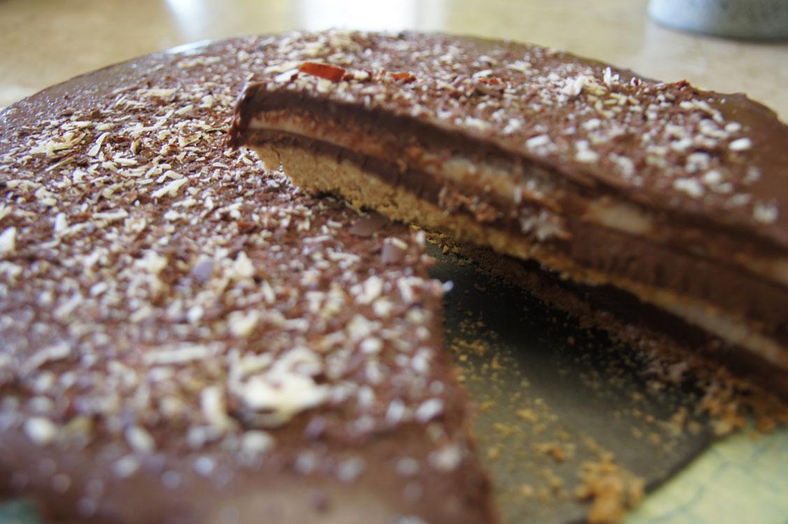 A melhor torta de chocolate que já comi