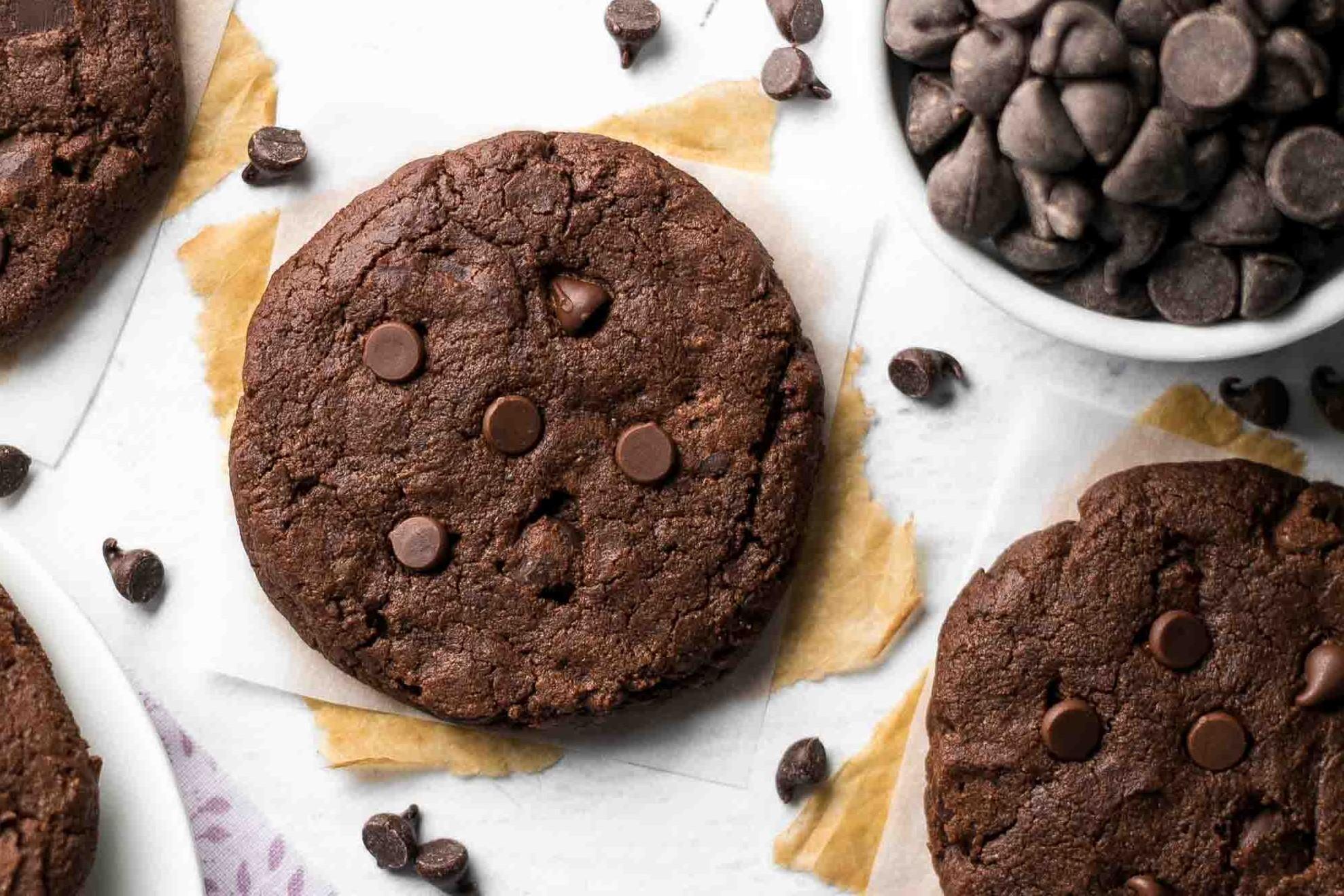 Perdição em forma de bolachas de chocolate com avelã