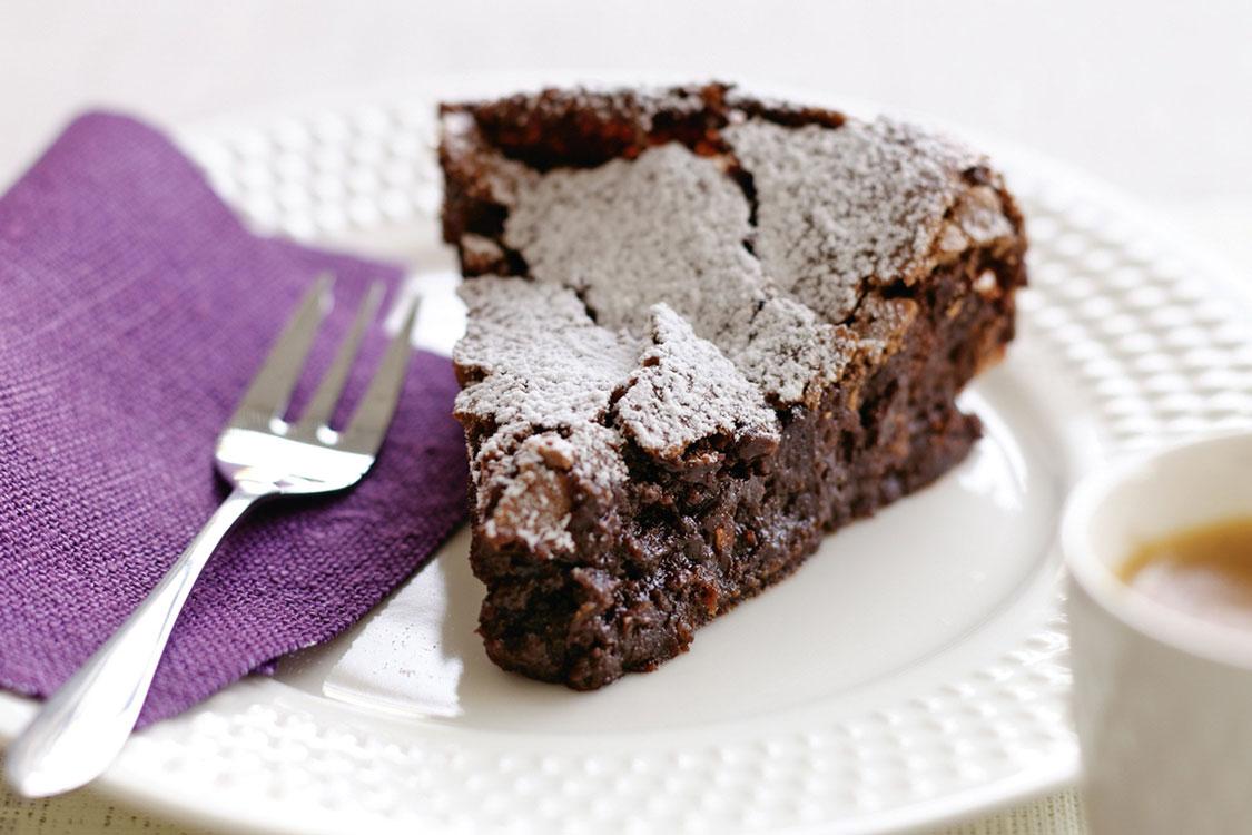 Bolo de chocolate sem farinha e sem glúten!