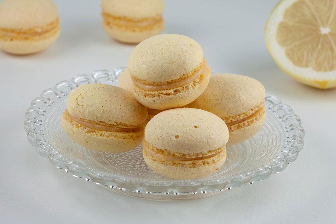 Macarons de limão sem glúten e sem lactose!