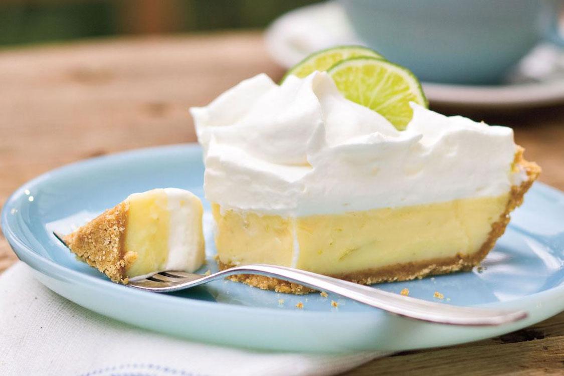 "Esta é ""a"" receita de tarte de lima!"