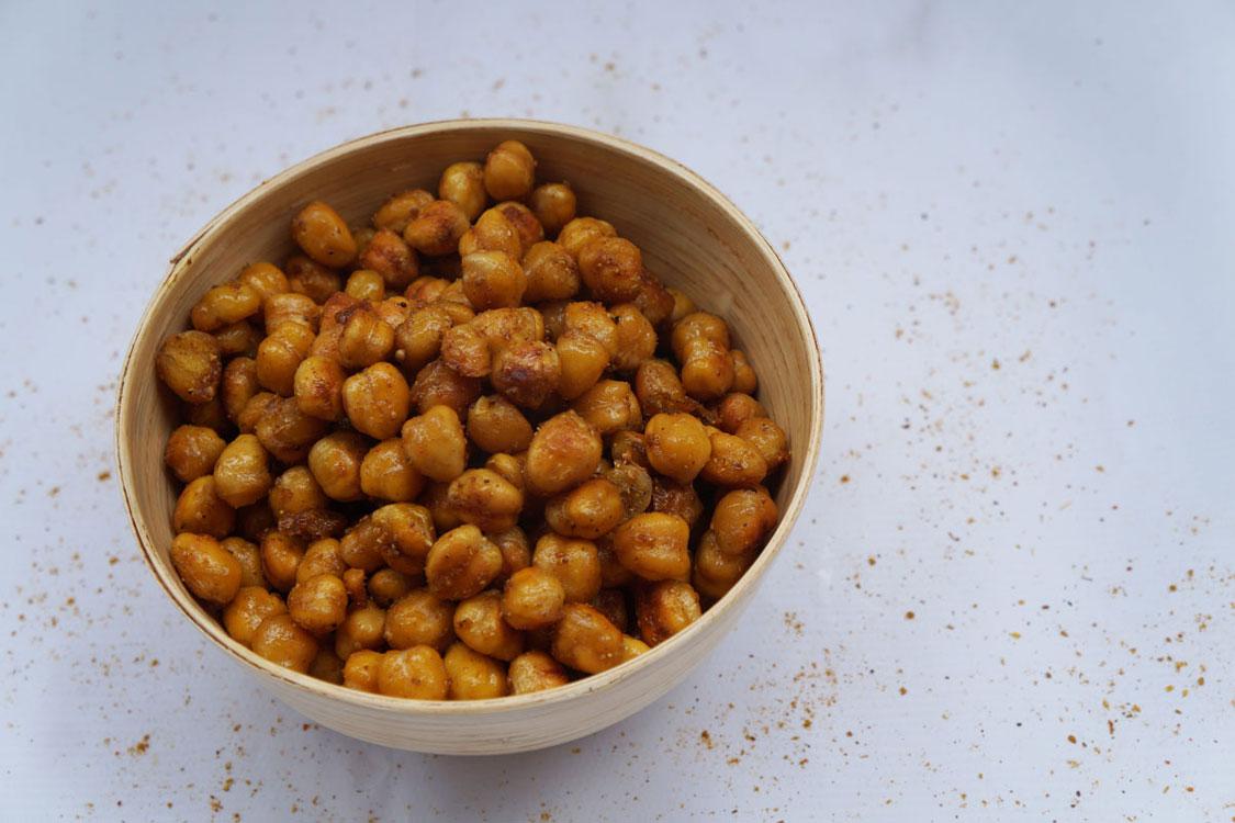 Grão crocante com especiarias: o snack saudável que todos querem provar!