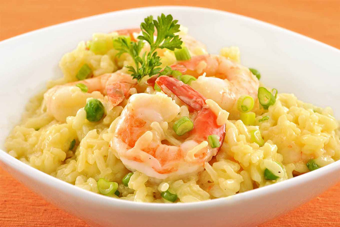 Risotto de camarão: já sei o que vai jantar hoje!