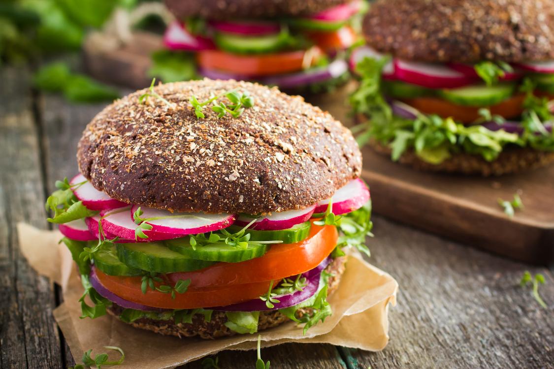 Esta sandes vegetariana é a mais recente novidade na alimentação saudável!
