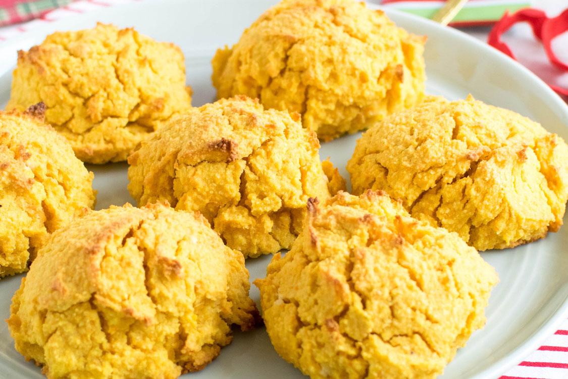 Estes biscoitos de batata-doce são tão irresistíveis… que dá vontade de comer logo 10 de uma vez!