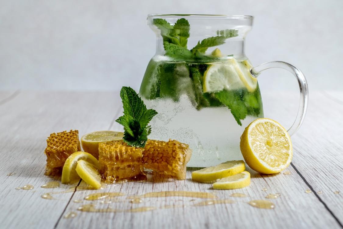 Limonada com mel