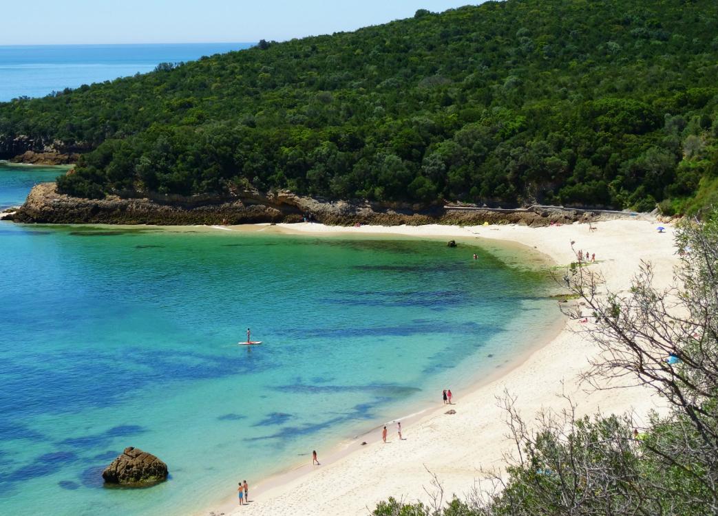 Novo passadiço liga Praia de Galapos à Praia de Galapinhos!