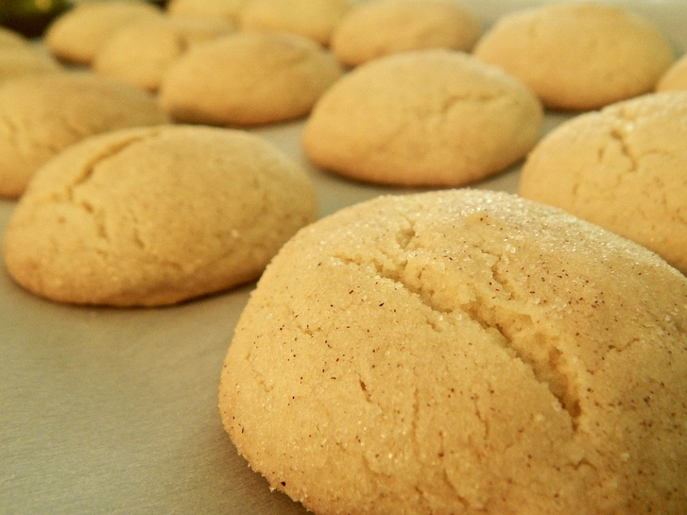 Receita de biscoitos com canela