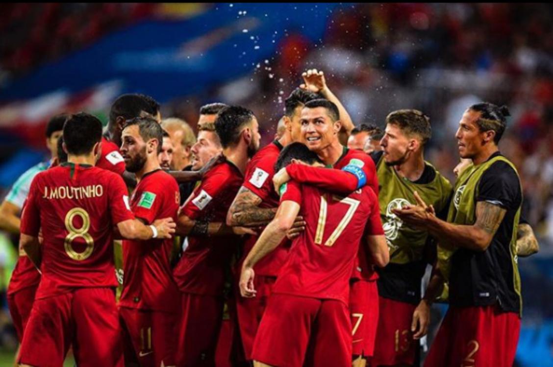 Cristiano Ronaldo marcou três golos… e os famosos ficaram rendidos!