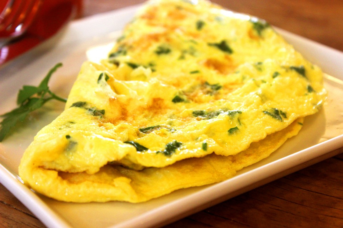 Omelete saudável