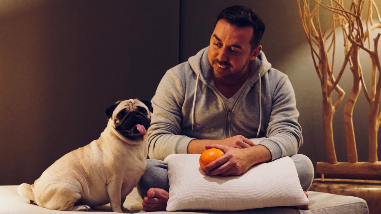 Está provado! Cães fazem tudo por tudo para nos animar quando estamos tristes!