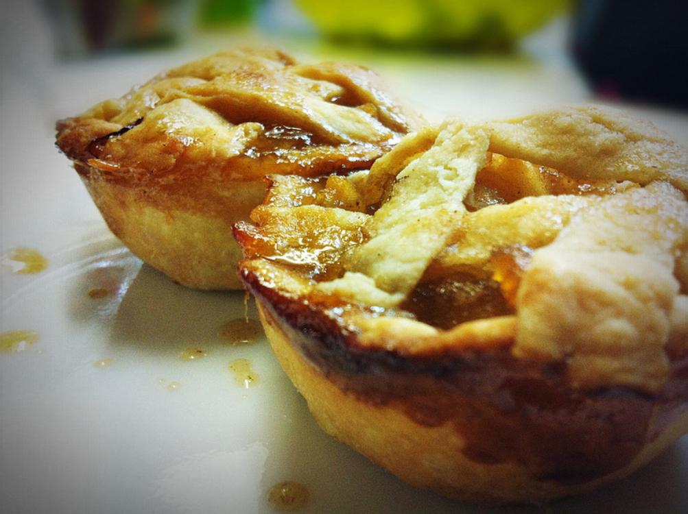 Mini tartes de maçã