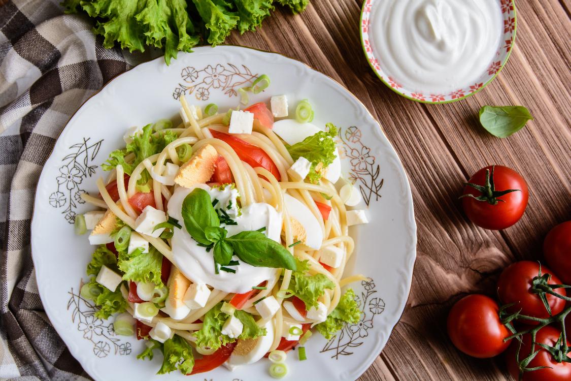 Salada de esparguete