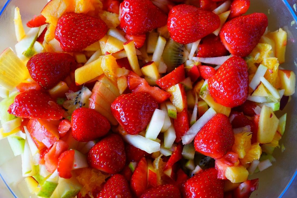 Salada de frutas light para perder peso