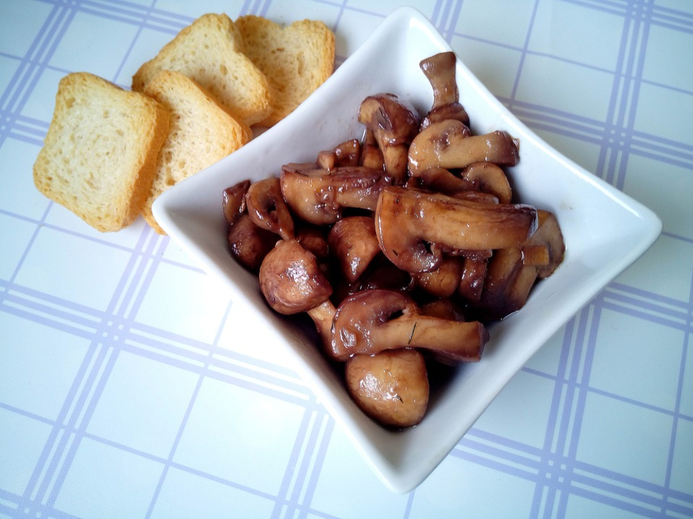 Receita de cogumelos salteados