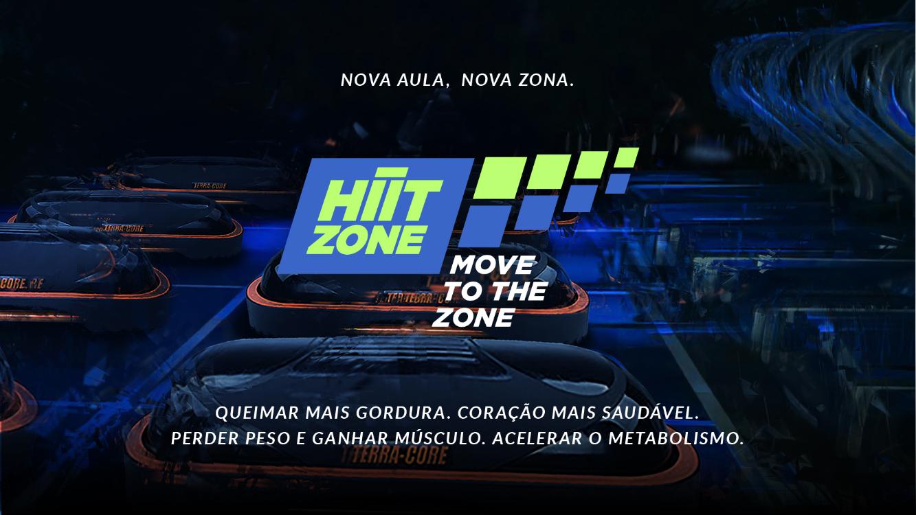 Desconstrua a rotina com a nova aula Hiit Zone!