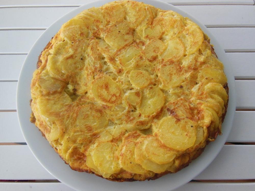 Receita de tortilha espanhola
