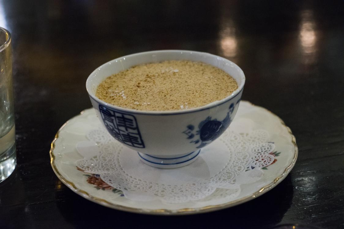 Doce de leite condensado com bolacha Maria