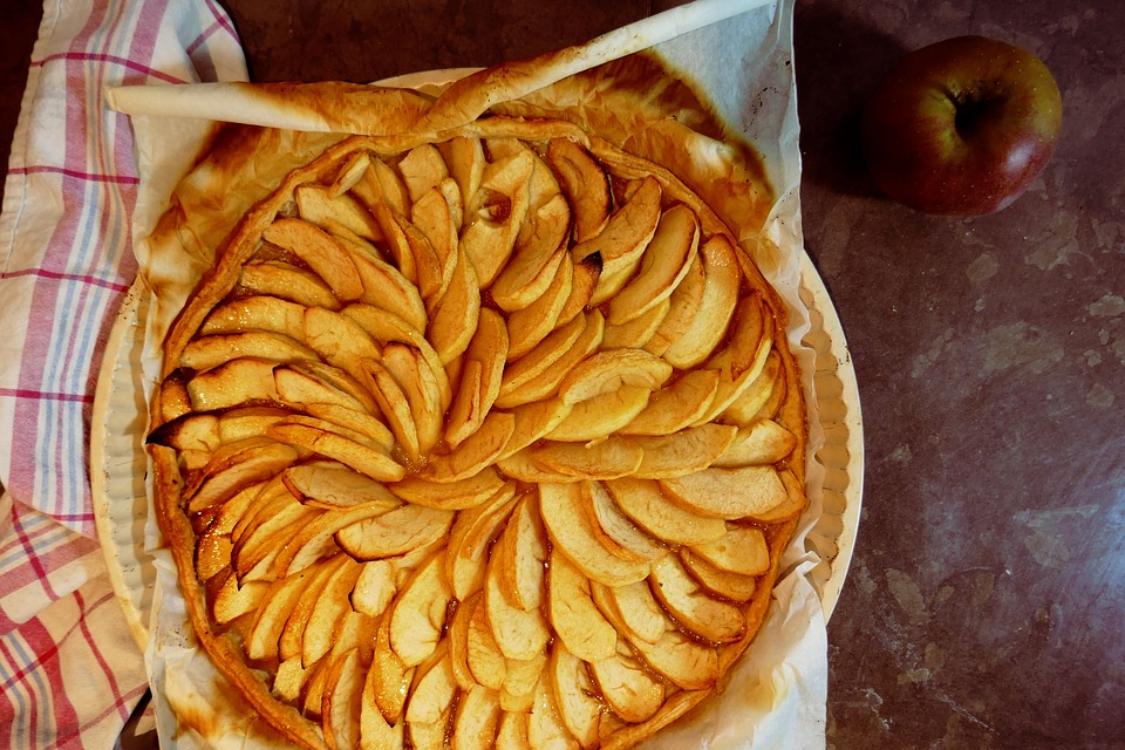 Receita de tarte de maçã tão macia… que até se desfaz na boca!