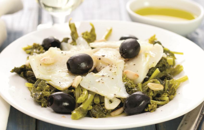 Bacalhau com grelos: de comer… e chorar por mais!