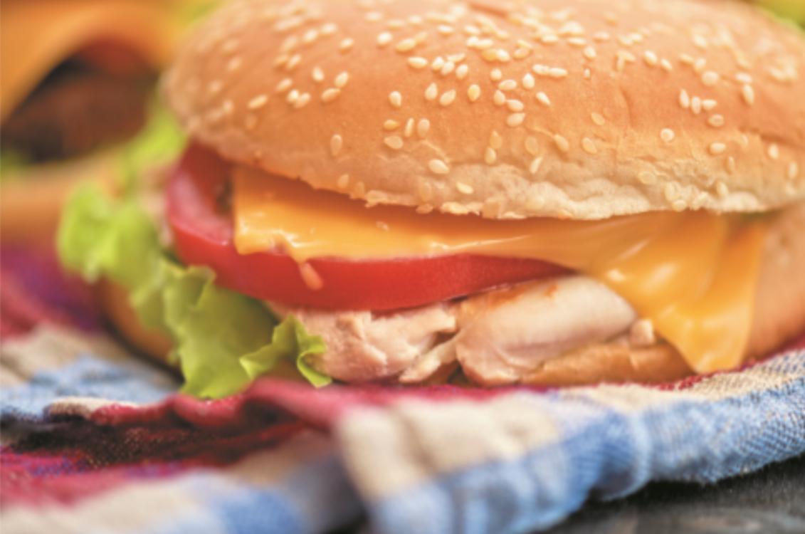 Receita de hambúrguer de peito de frango