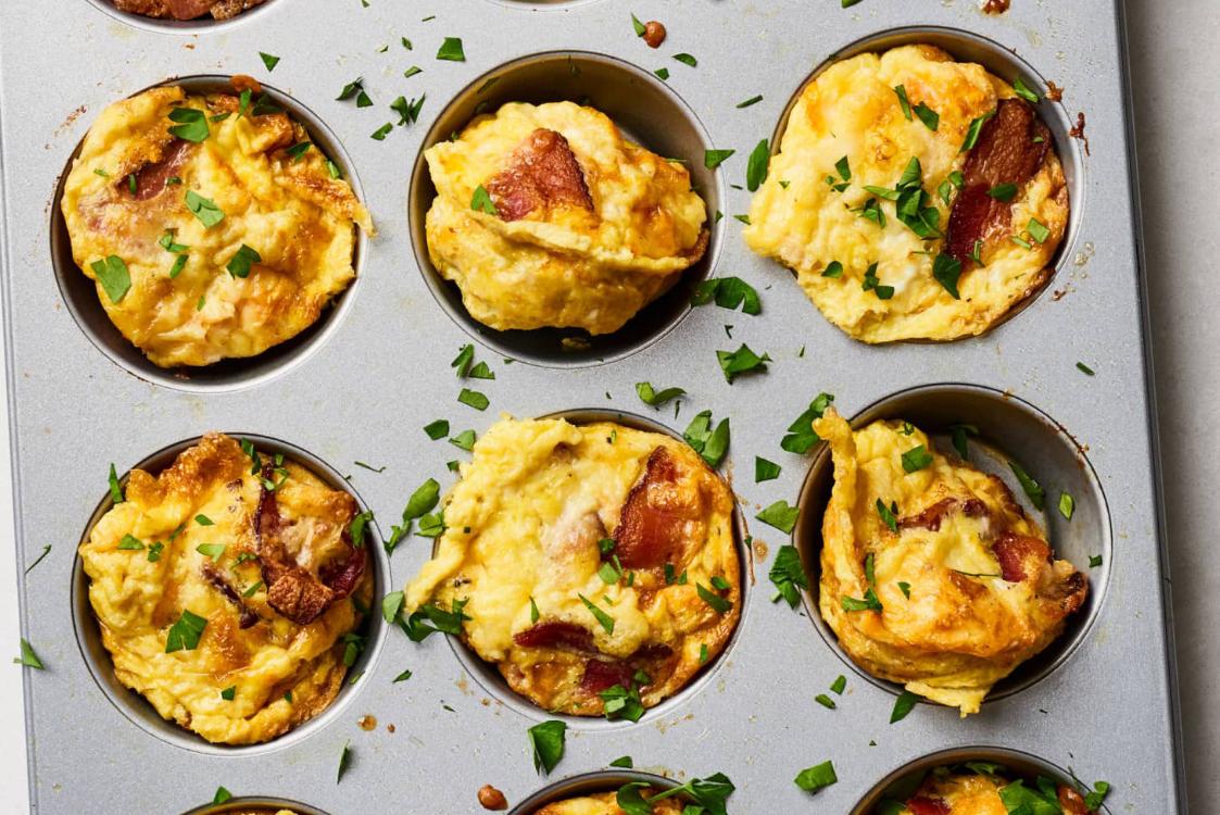 Muffins de ovo