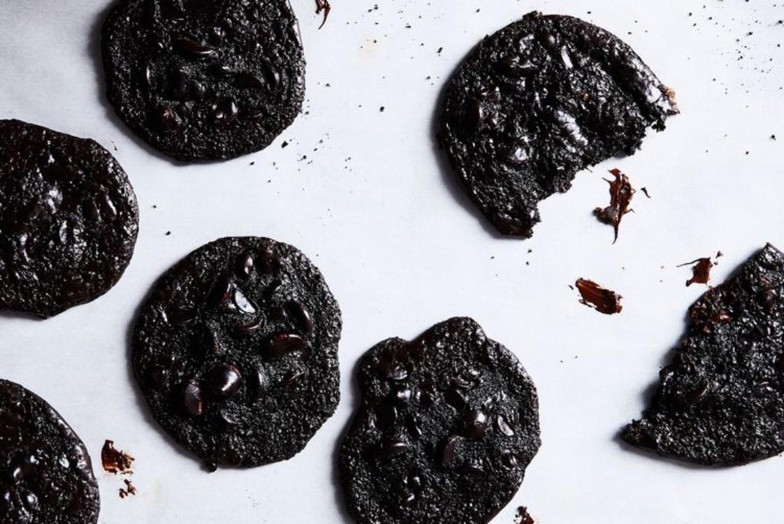 Bolachas de chocolate sem farinha