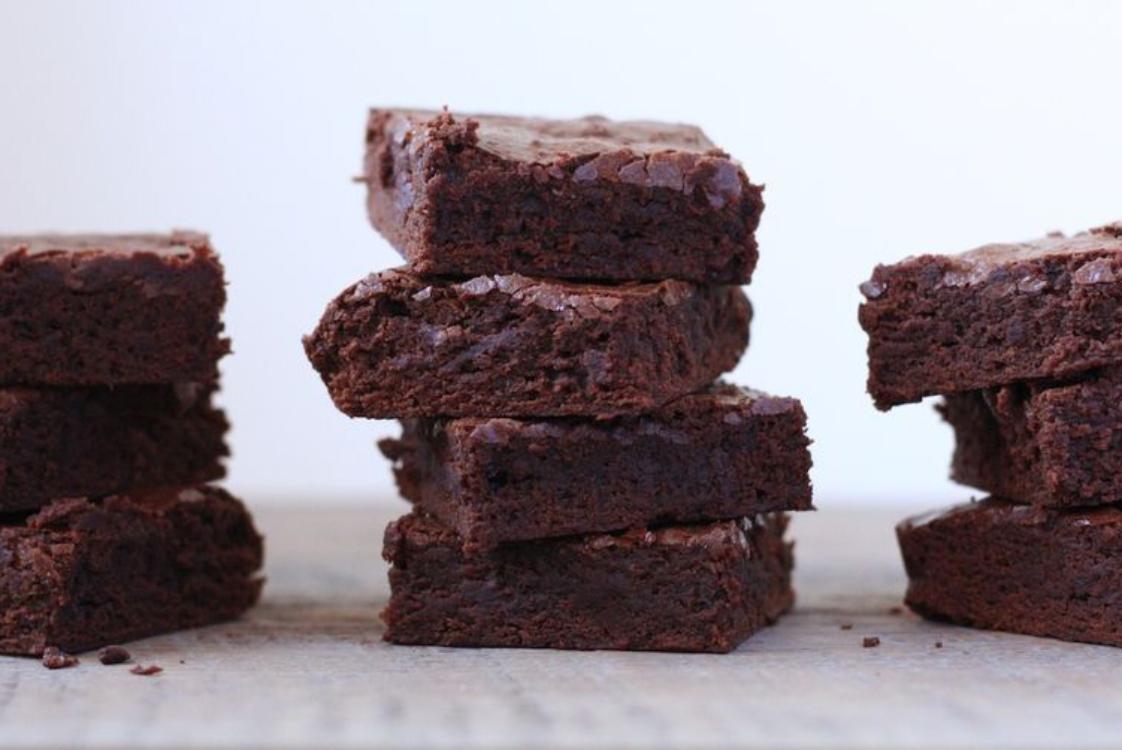 Brownies de chocolate muito simples… e fofos!
