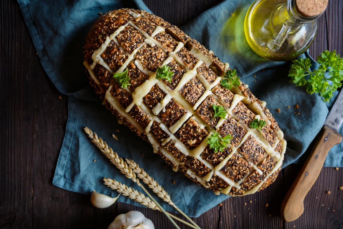 Receita de pão de queijo e alho