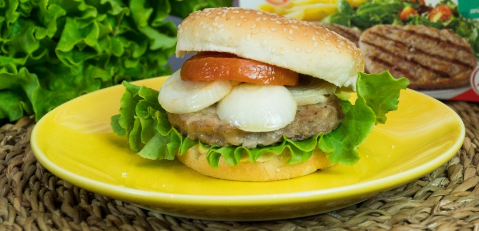 Receita de hambúrguer de forno