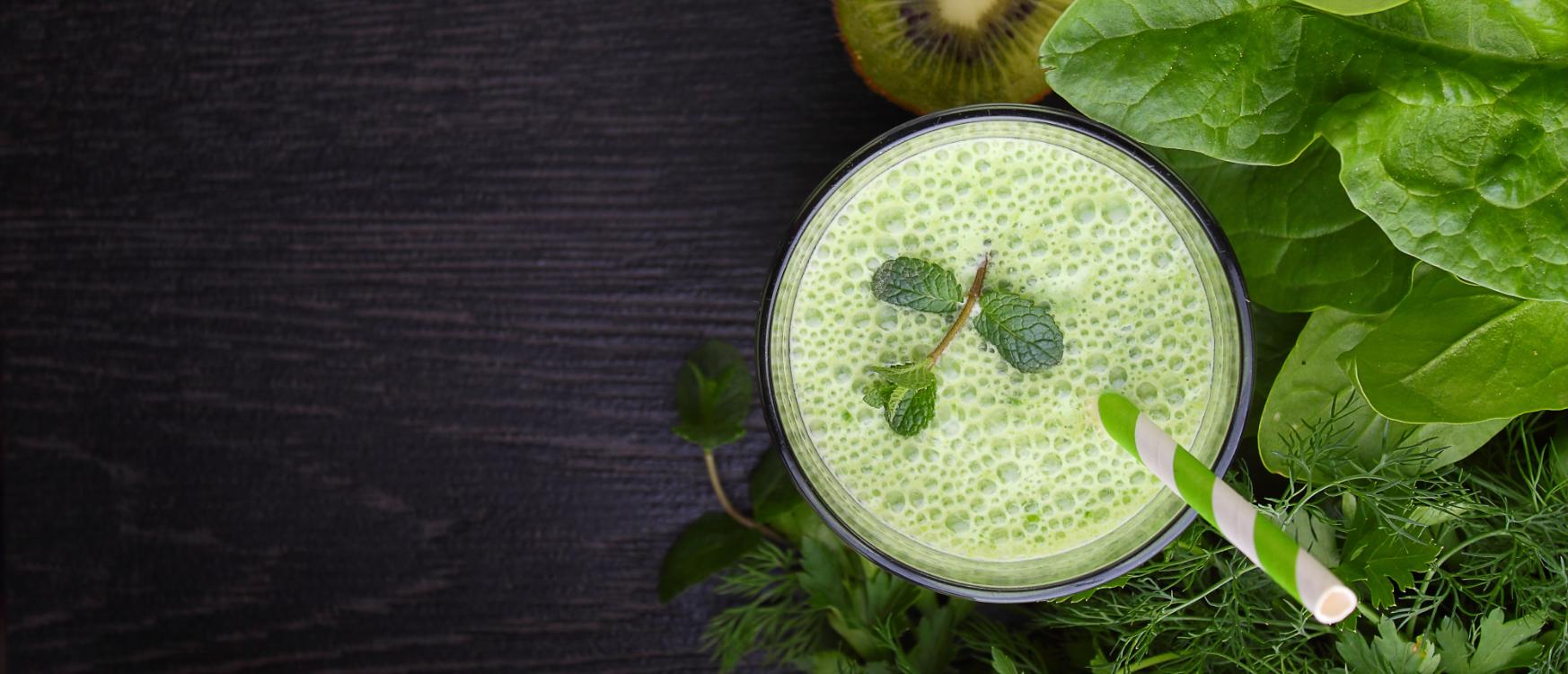 Receita de smoothie verde