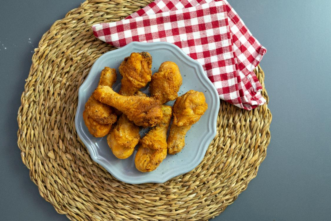 Perninhas de frango à americana