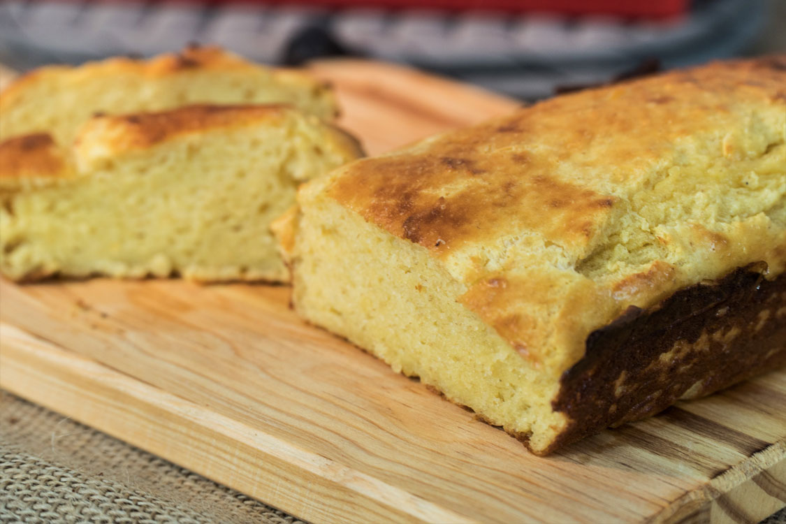 Pão light sem farinha