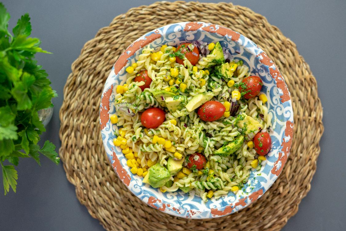 Receita de massa vegetariana: com muita cor e sabor!