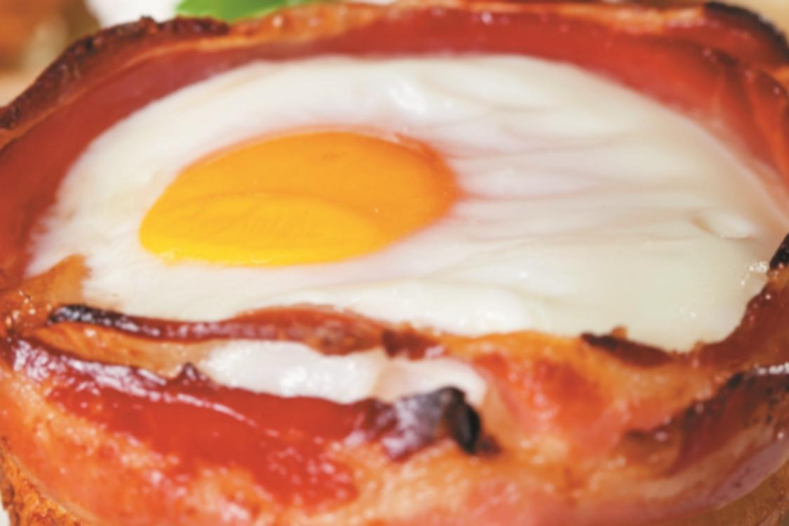 Muffin de ovos e bacon: uma receita para ficar com água na boca!
