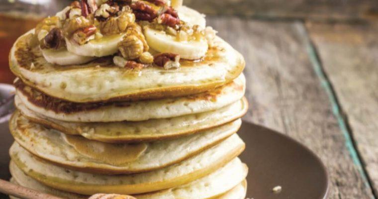 Panquecas de banana e mel sem glúten: são muito deliciosas!
